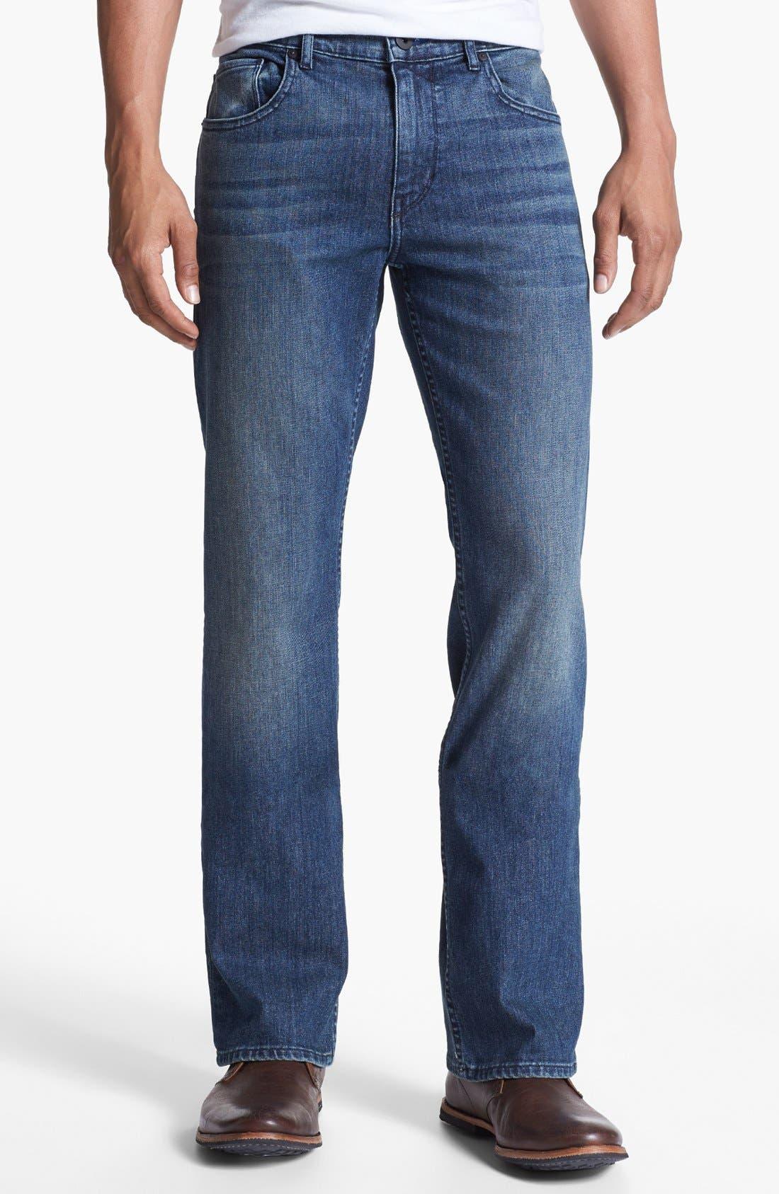 Alternate Image 2  - Paige 'Doheny' Straight Leg Jeans (Winston)