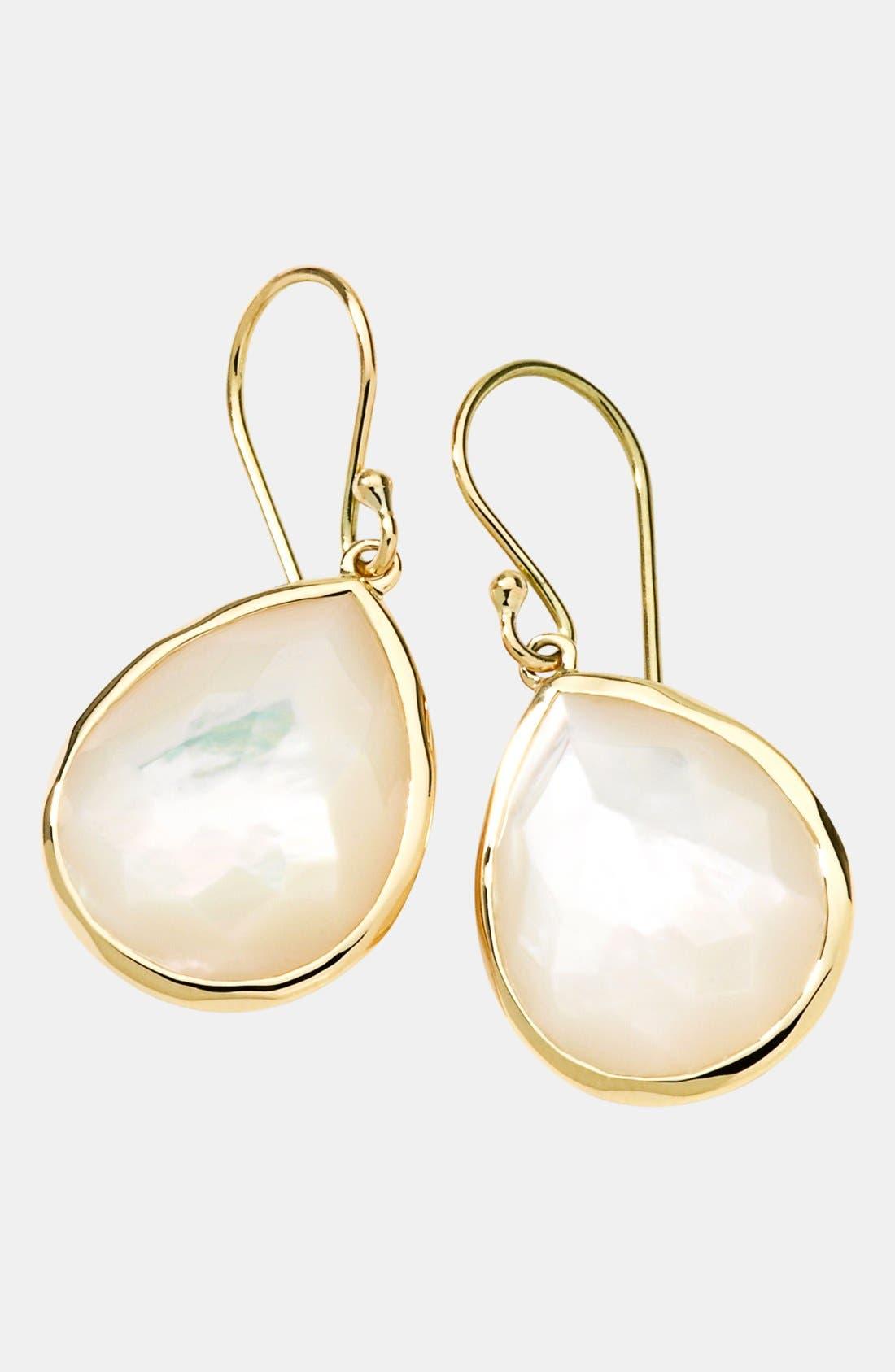 Alternate Image 1 Selected - Ippolita 'Rock Candy' 18k Gold Teardrop Earrings