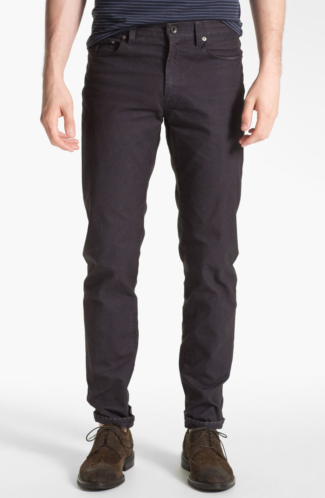 Alternate Image 1 Selected - Steven Alan Slim Straight Leg Pants
