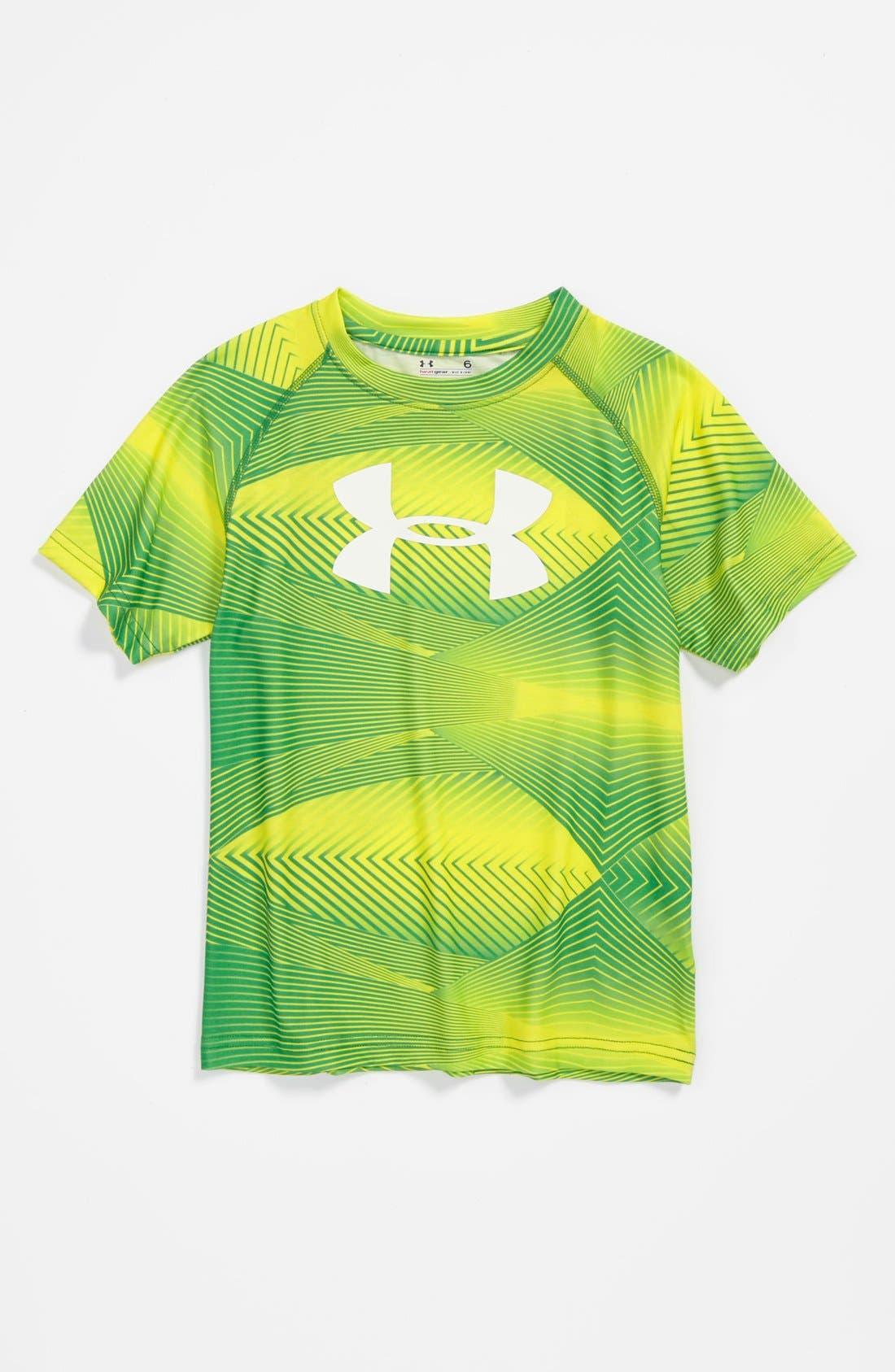Main Image - Under Armour 'Ultralight' T-Shirt (Little Boys)