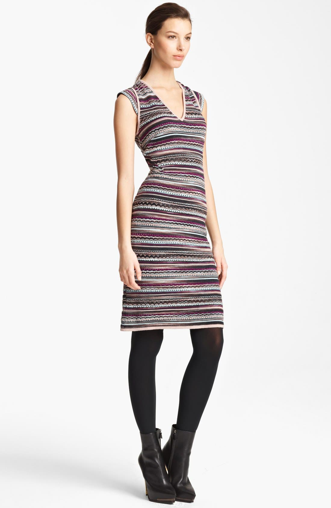 Alternate Image 1 Selected - Missoni V-Neck Knit Dress