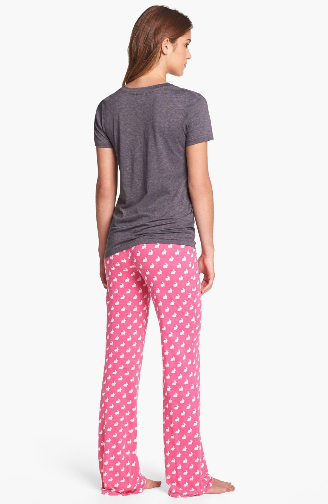 Alternate Image 4  - COZY ZOE Knit Lounge Pants