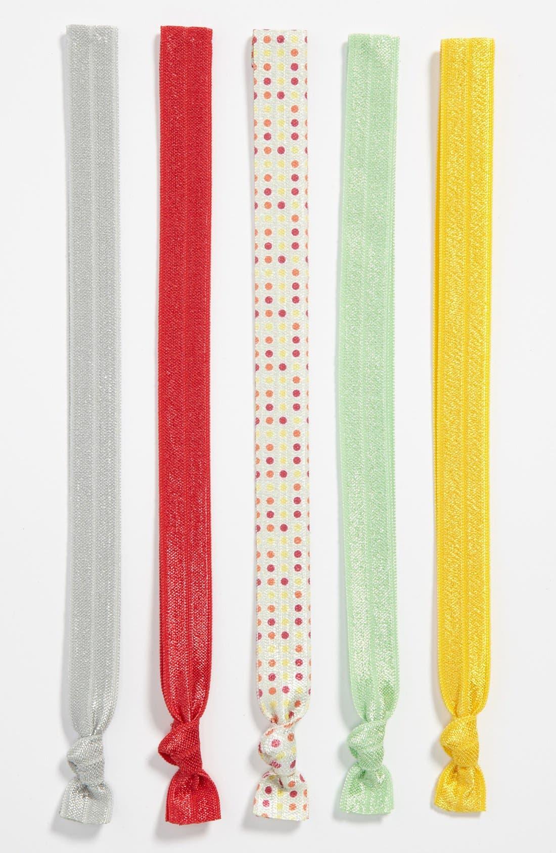 Alternate Image 1 Selected - Kitsch Headbands (5-Pack) (Girls)