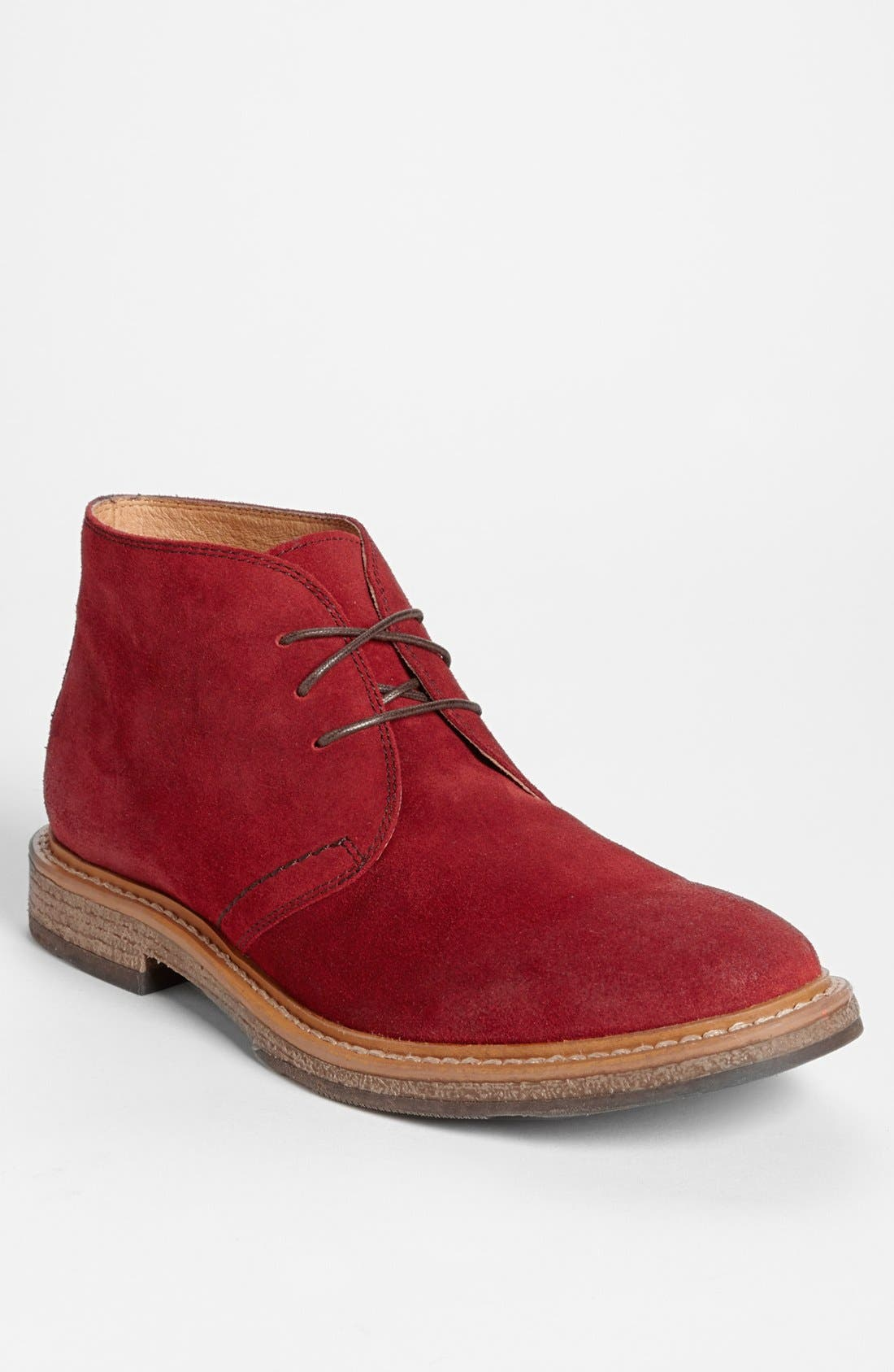 'Canyon' Chukka Boot,                             Main thumbnail 1, color,                             Red