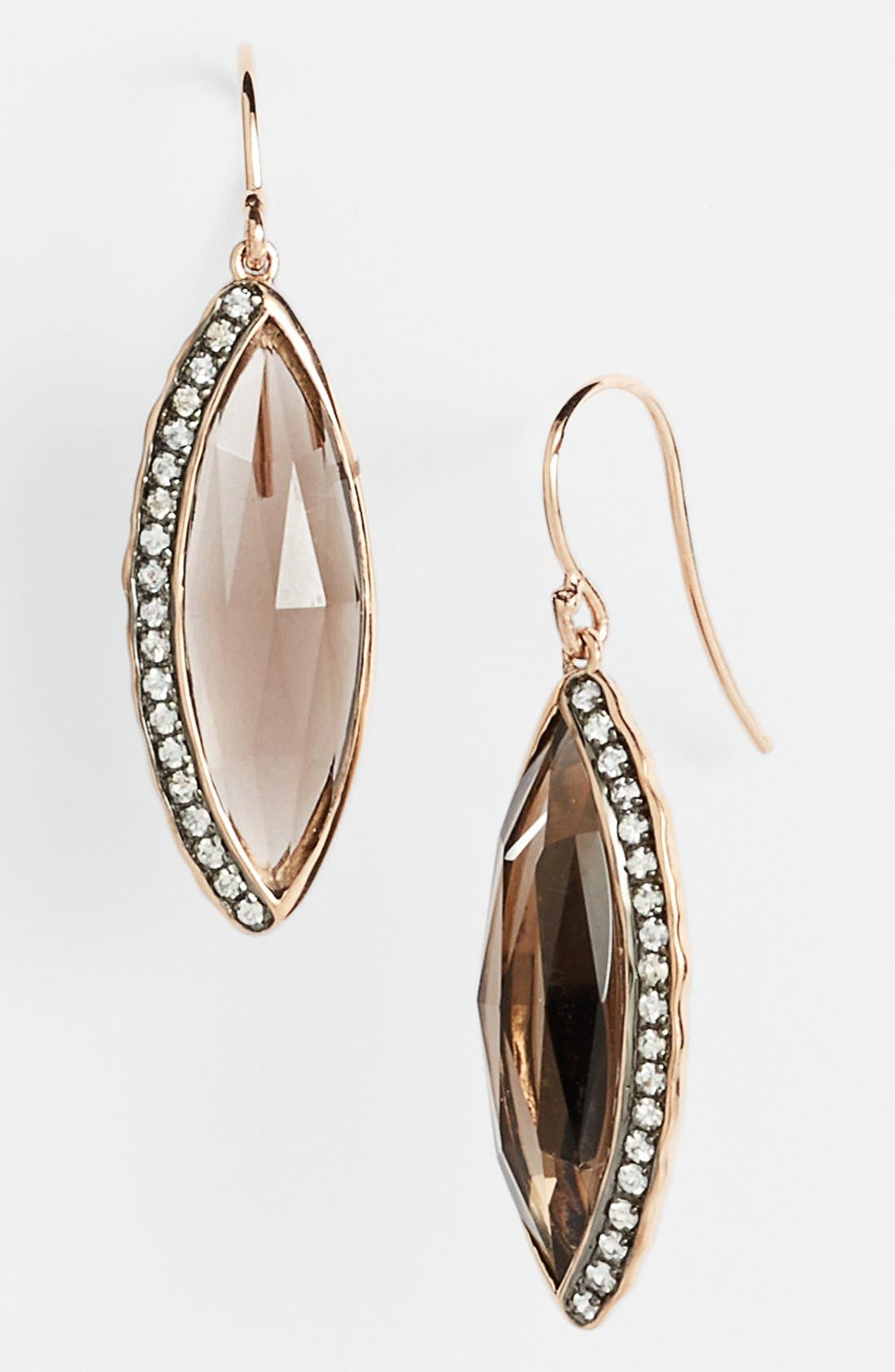 Main Image - Whitney Stern Marquise Drop Earrings