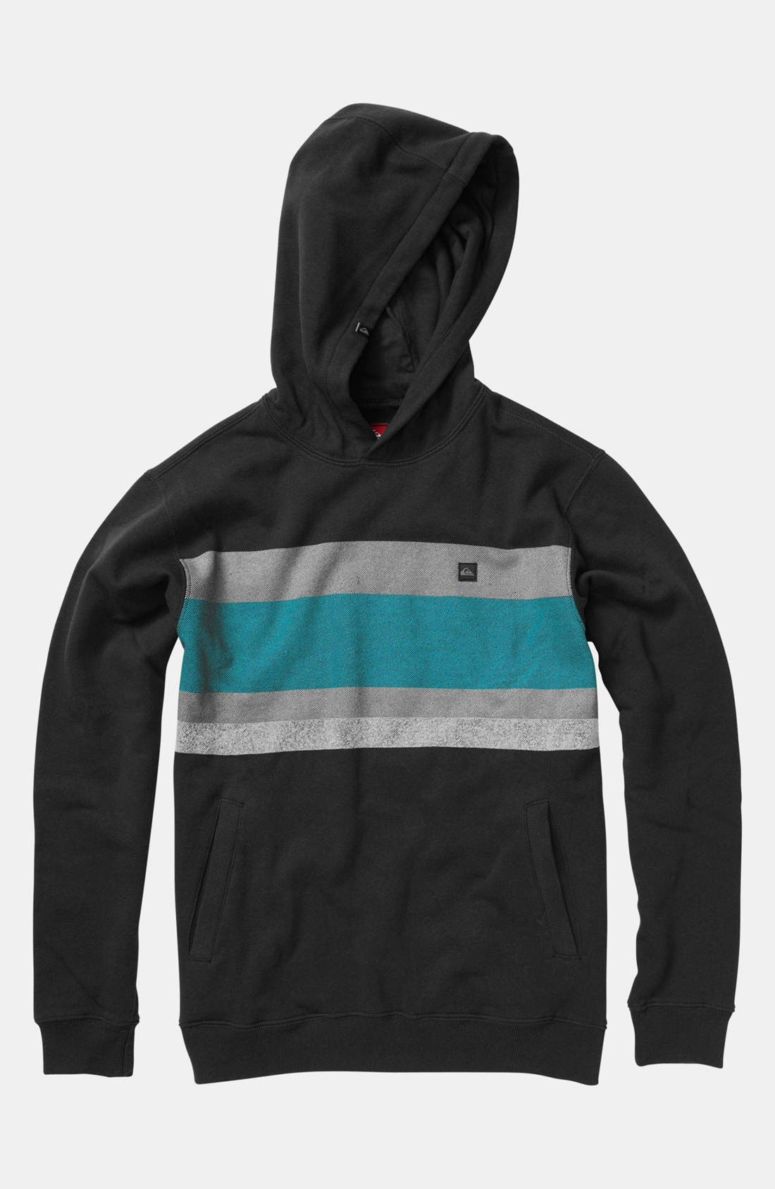Alternate Image 1 Selected - Quiksilver Pullover Hoodie (Big Boys)