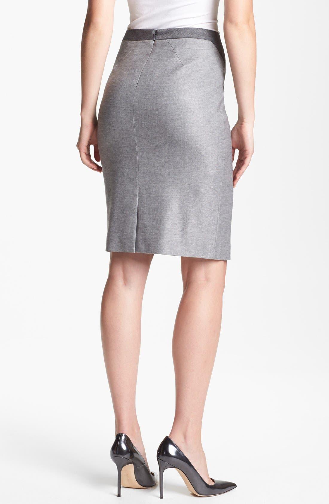 Alternate Image 2  - BOSS HUGO BOSS 'Venina' Skirt