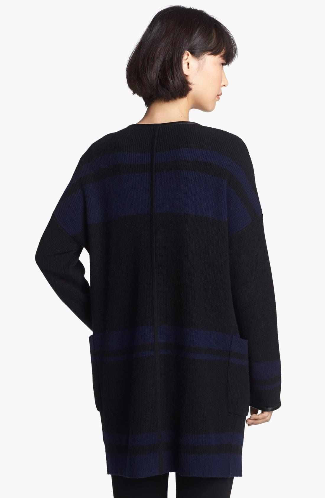 Alternate Image 2  - Loma 'Nicole' Blanket Stripe Sweater