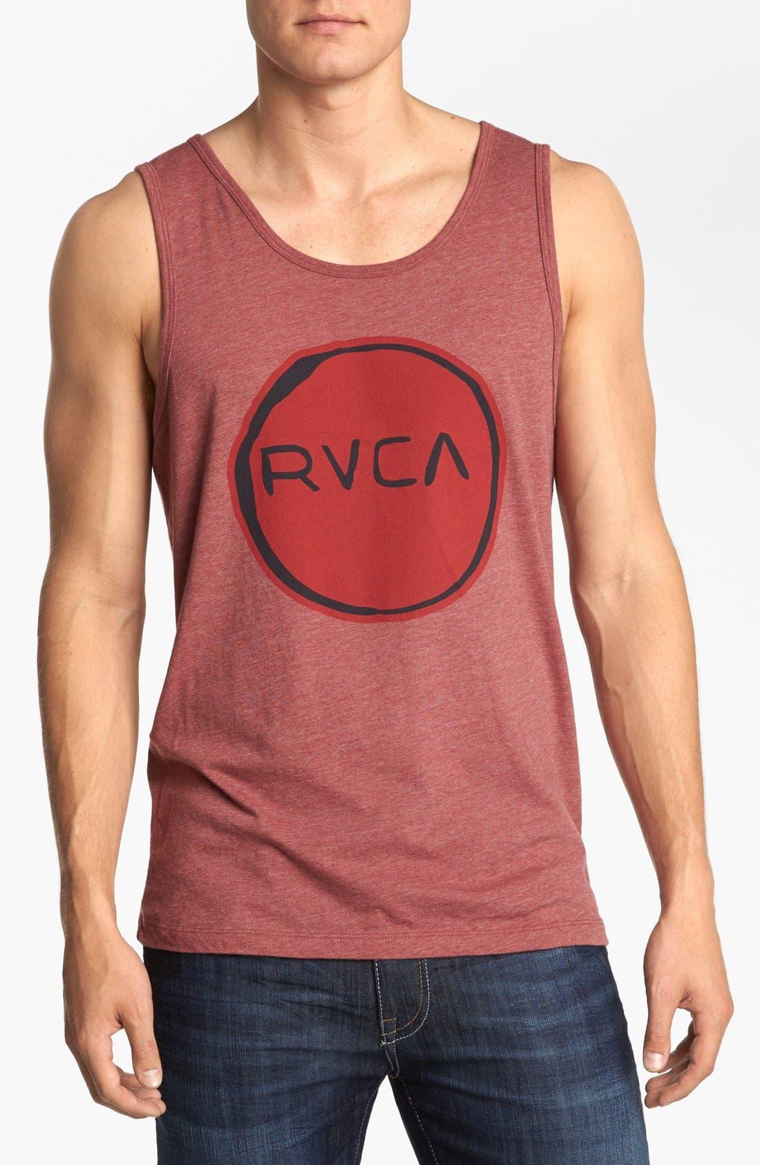 Alternate Image 1 Selected - RVCA 'Melt Circle' Tank Top