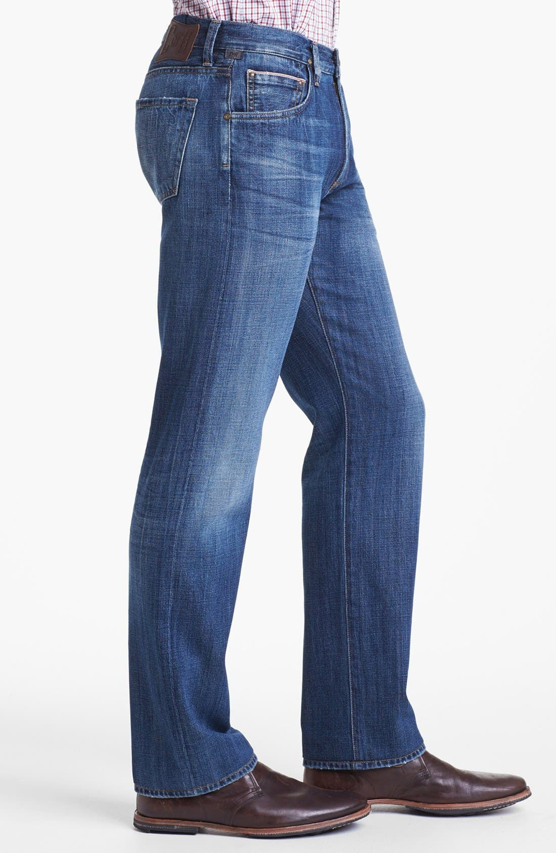 Alternate Image 3  - Citizens of Humanity 'Sid Selvage' Straight Leg Jeans (Kory Wash)