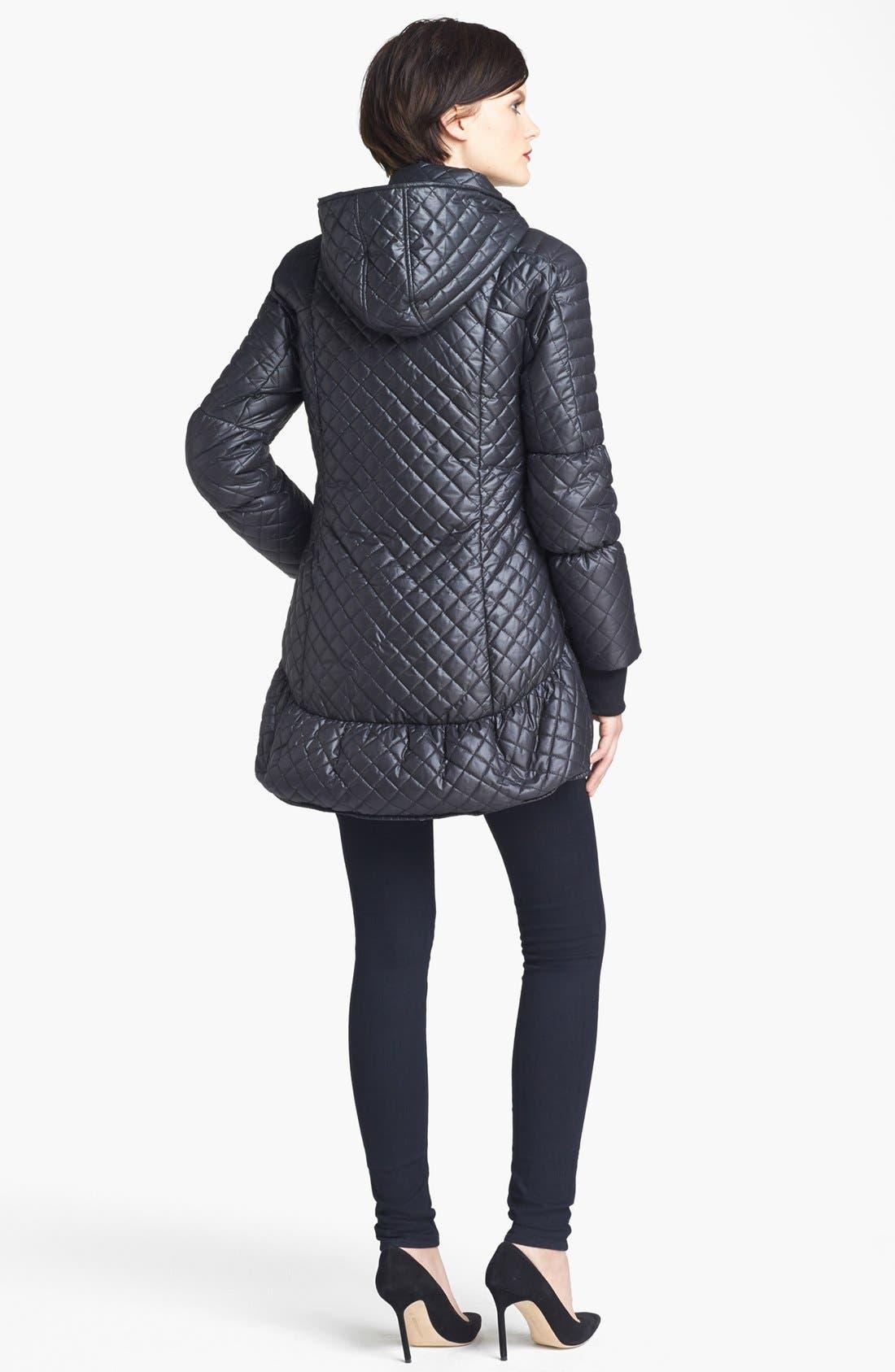 Alternate Image 4  - Alice + Olivia Hooded Puffer Jacket