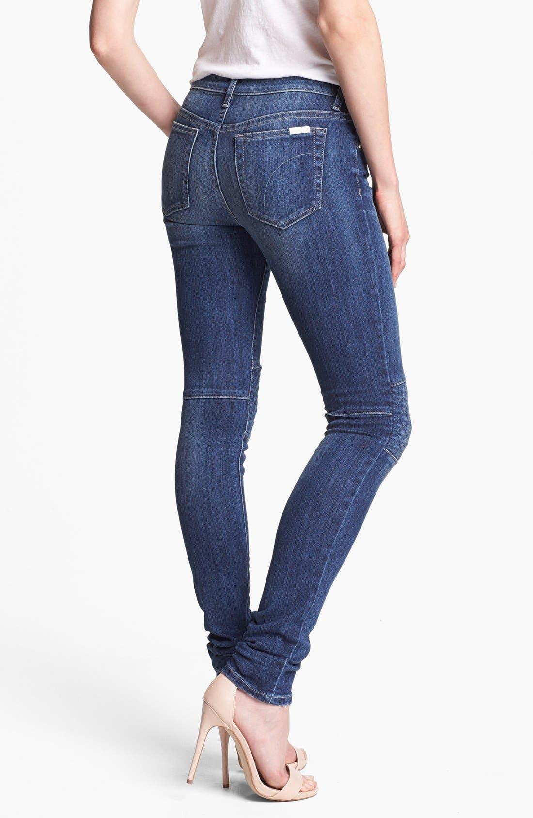 Alternate Image 2  - Joe's 'Quilted Street' Skinny Jeans (Laurel)