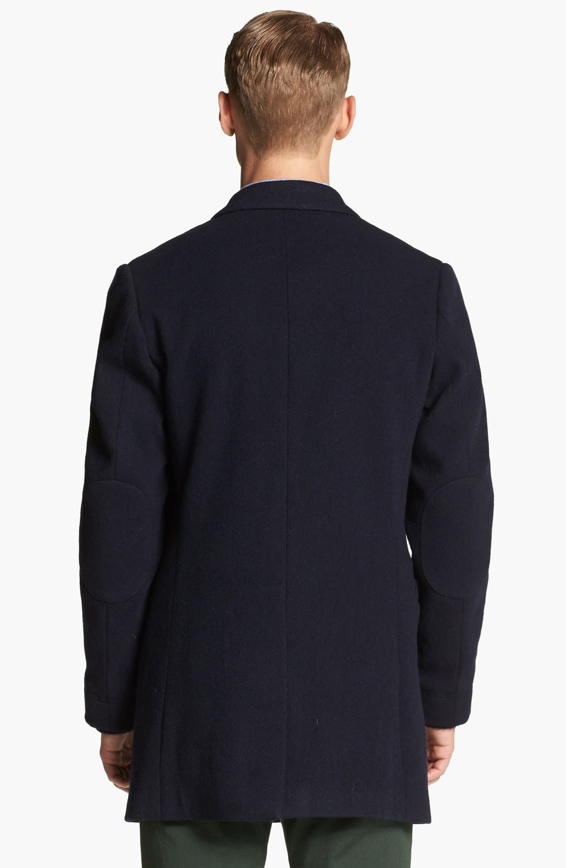 Alternate Image 2  - Band of Outsiders Double Breasted Overcoat