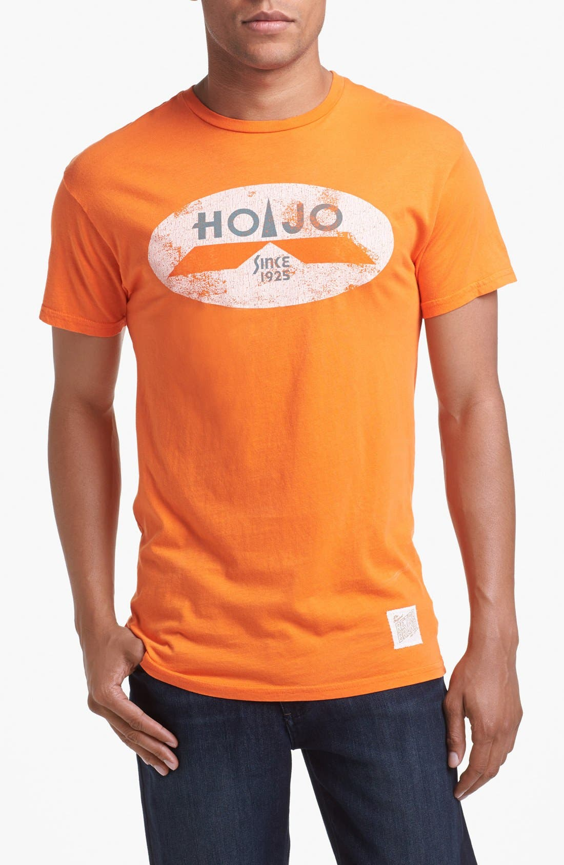 Alternate Image 1 Selected - Retro Brand 'HoJo' Crewneck T-Shirt