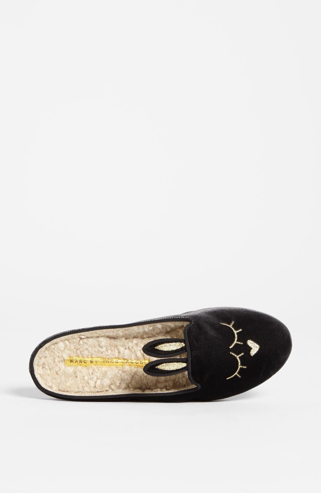 Alternate Image 3  - MARC BY MARC JACOBS 'Sleeping Bunny' Slipper
