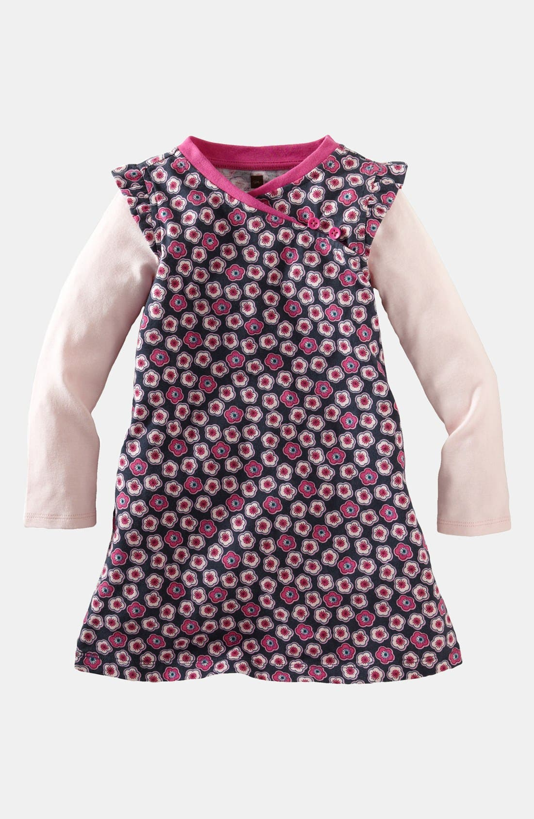Alternate Image 1 Selected - Tea Collection 'Cherry Blossom' Dress (Baby Girls)
