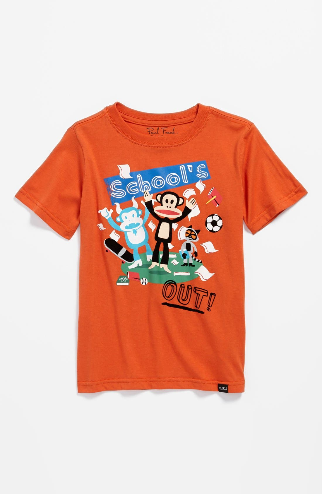 Alternate Image 1 Selected - Paul Frank 'School's Out' T-Shirt (Little Boys)