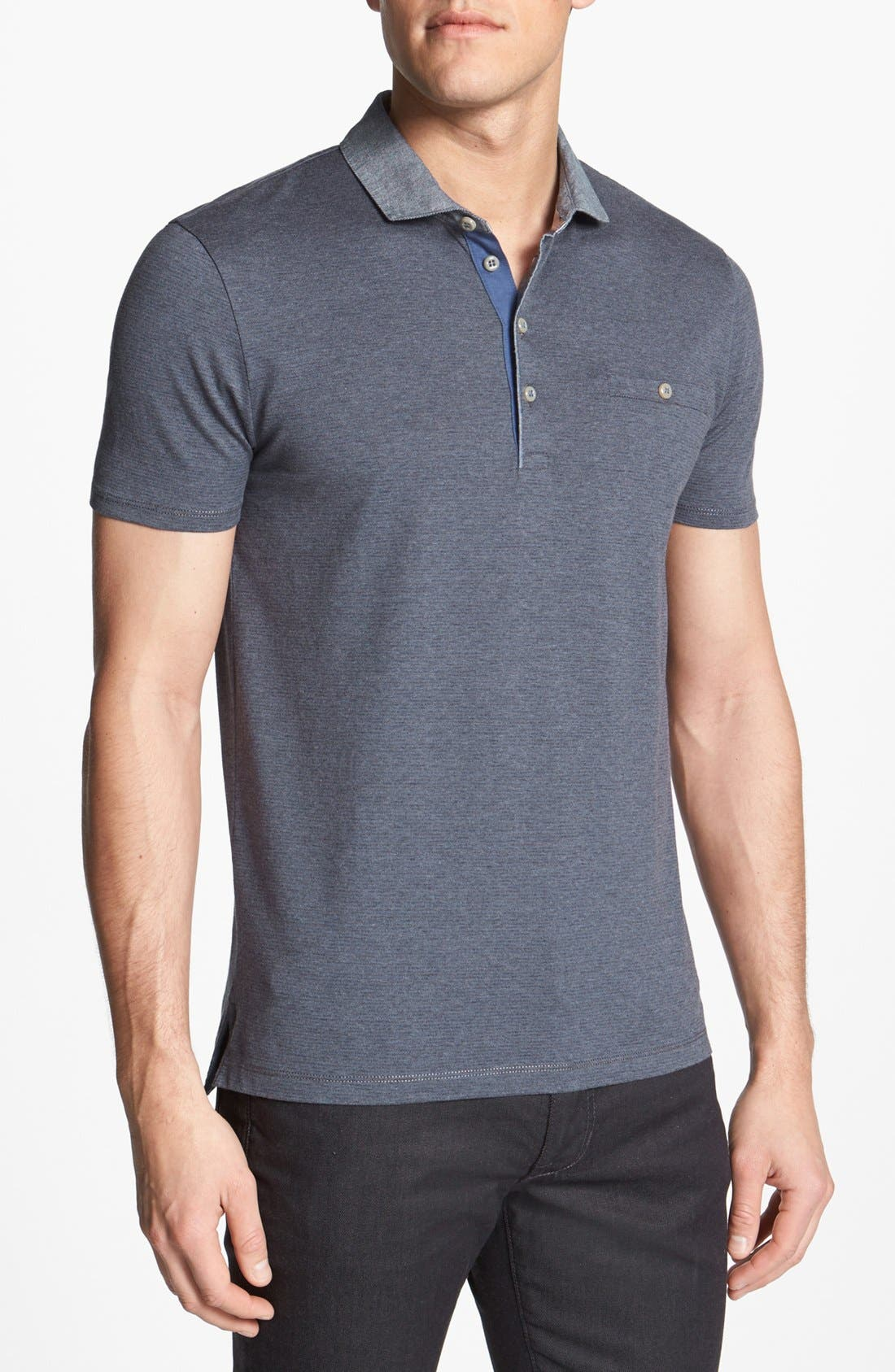 Alternate Image 1 Selected - BOSS HUGO BOSS 'Como' Regular Fit Polo