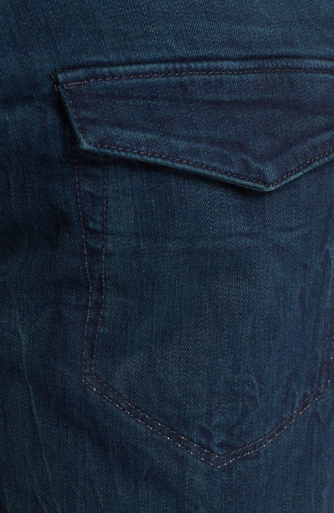 Alternate Image 4  - Just Cavalli Slim Fit Moto Jeans