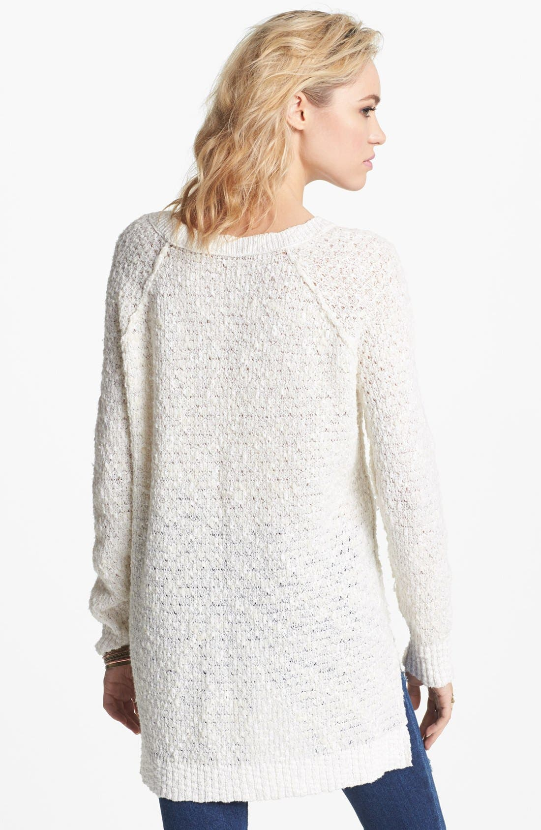 Alternate Image 2  - Free People 'Po Jeepster' High/Low Sweater