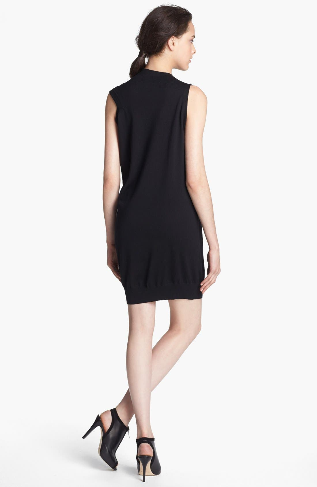 Alternate Image 2  - Alexander Wang Sleeveless Wool Knit Dress