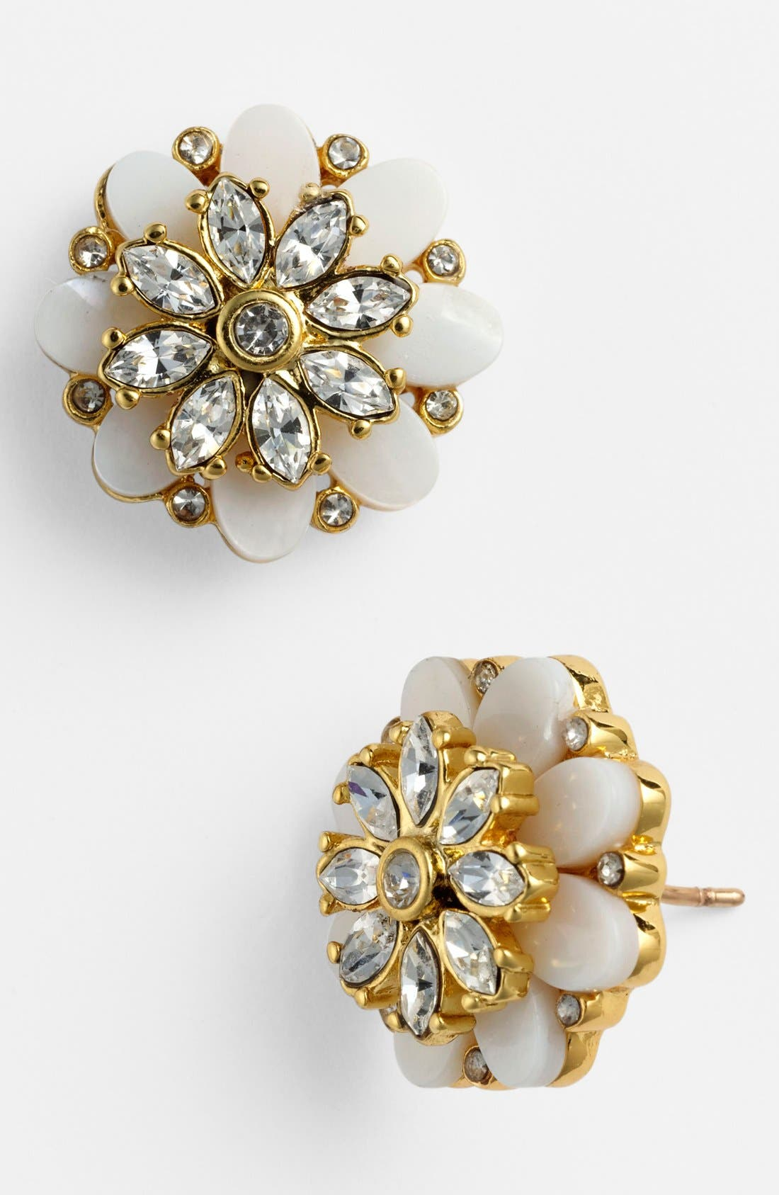 Alternate Image 1 Selected - kate spade new york 'bungalow bouquet' stud earrings
