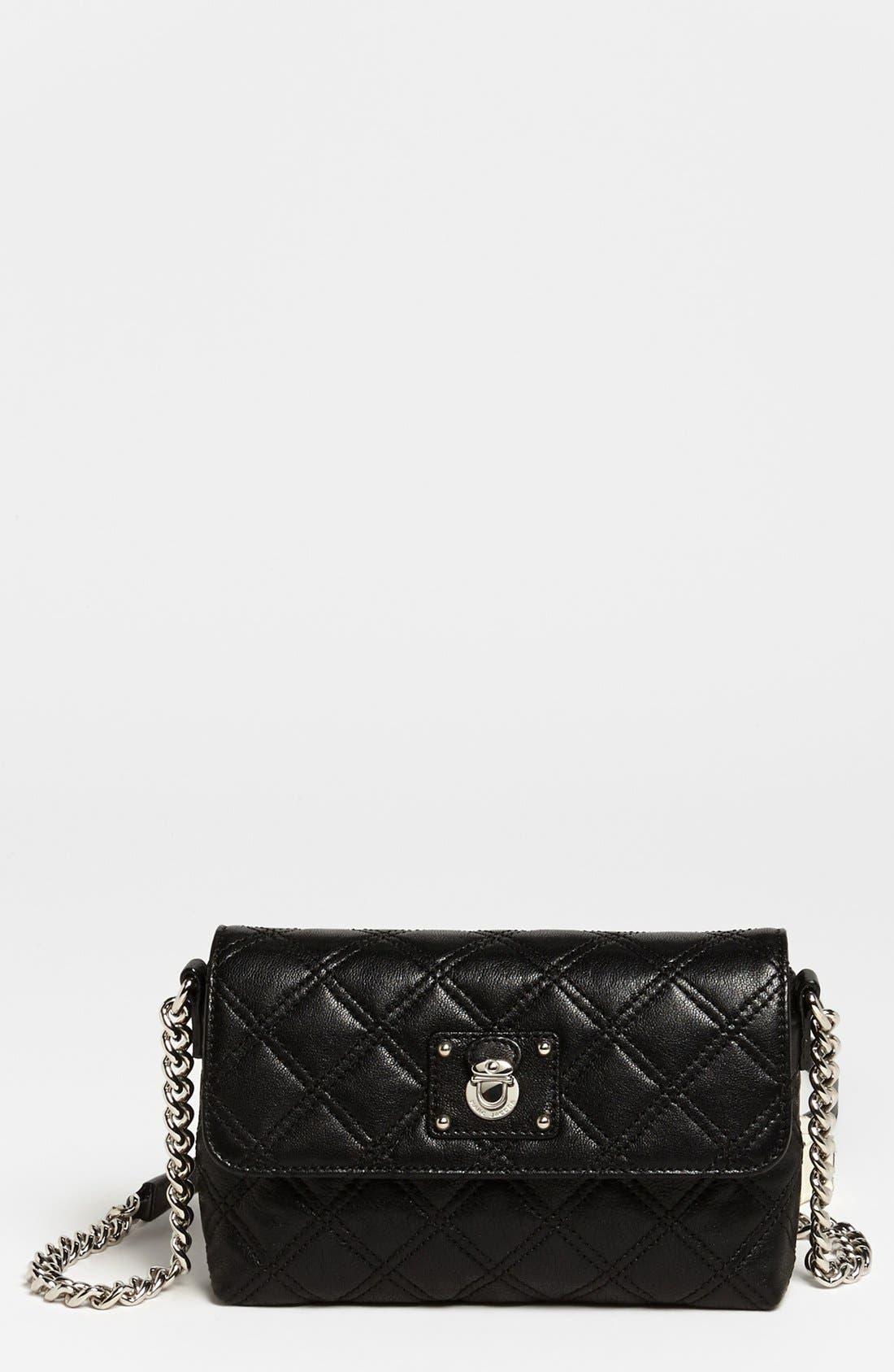 Alternate Image 1 Selected - MARC JACOBS 'Quilting - Single' Leather Shoulder Bag