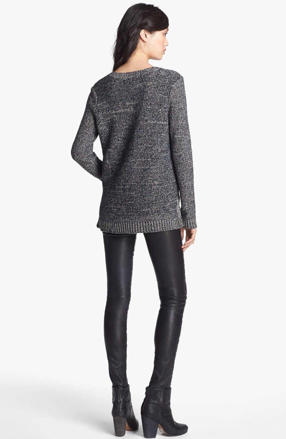Alternate Image 3  - rag & bone 'Jackie' Wool Pullover