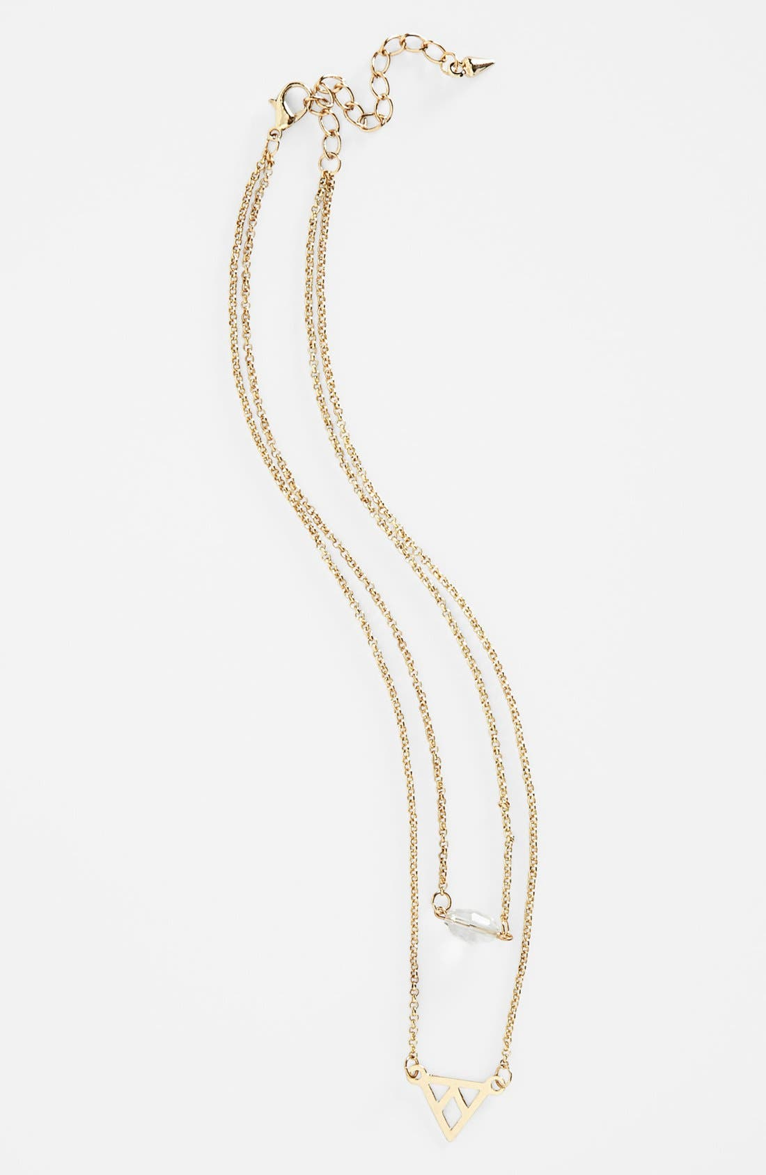 Alternate Image 1 Selected - Stephan & Co. Layered Necklace (Juniors)