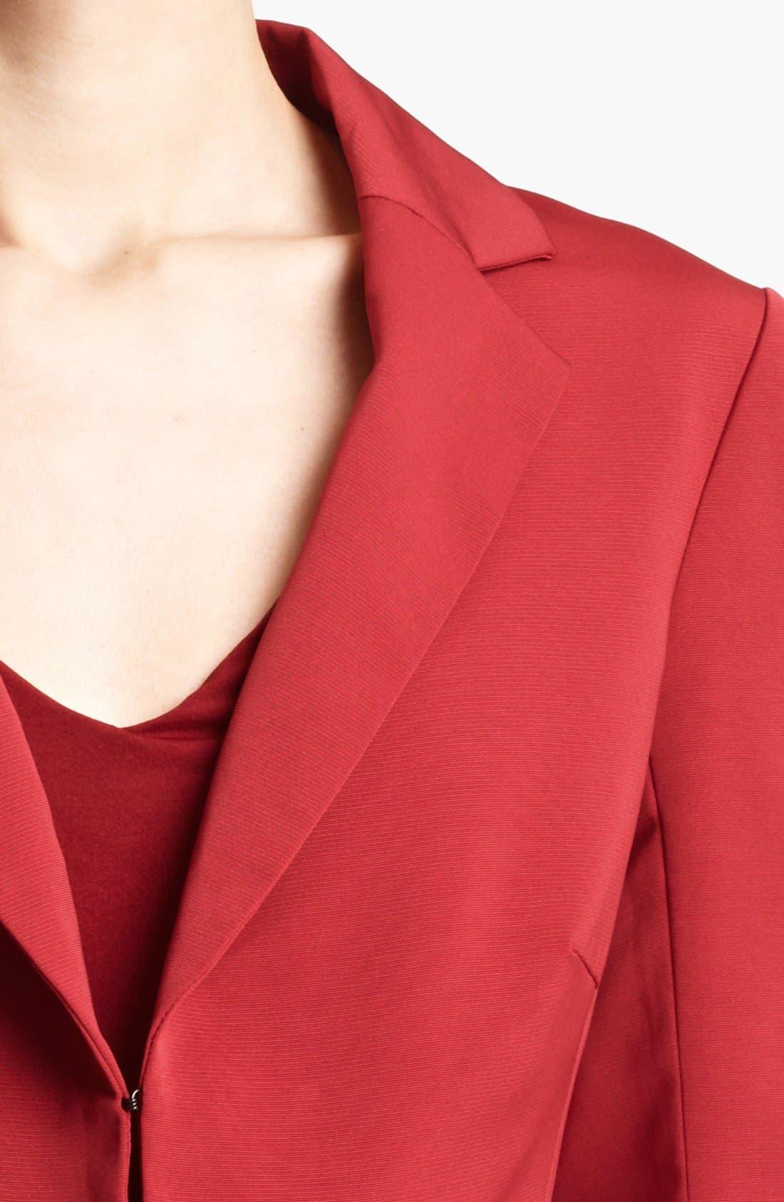 Alternate Image 3  - Lida Baday Split Front Faille Jacket