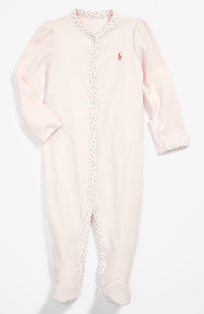 Ralph Lauren Footie Baby Girls Nordstrom