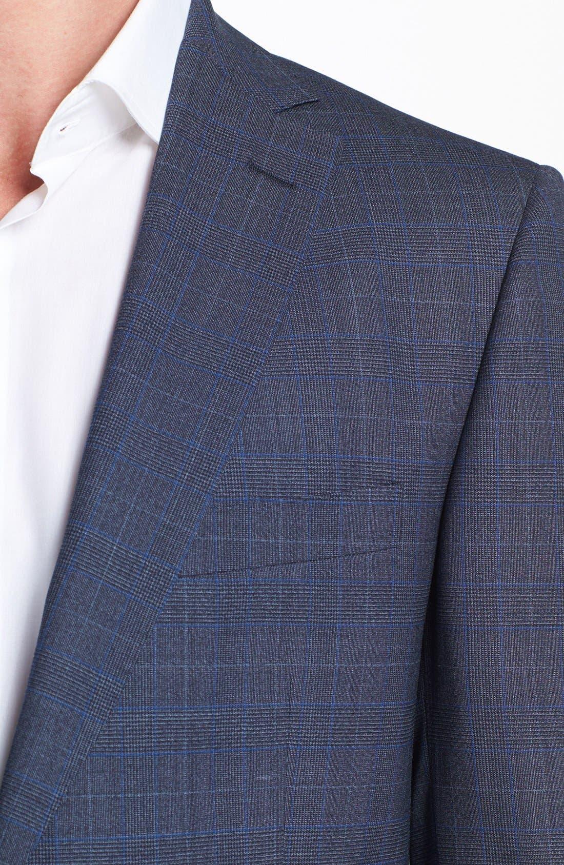 Alternate Image 2  - Z Zegna Plaid Wool Suit