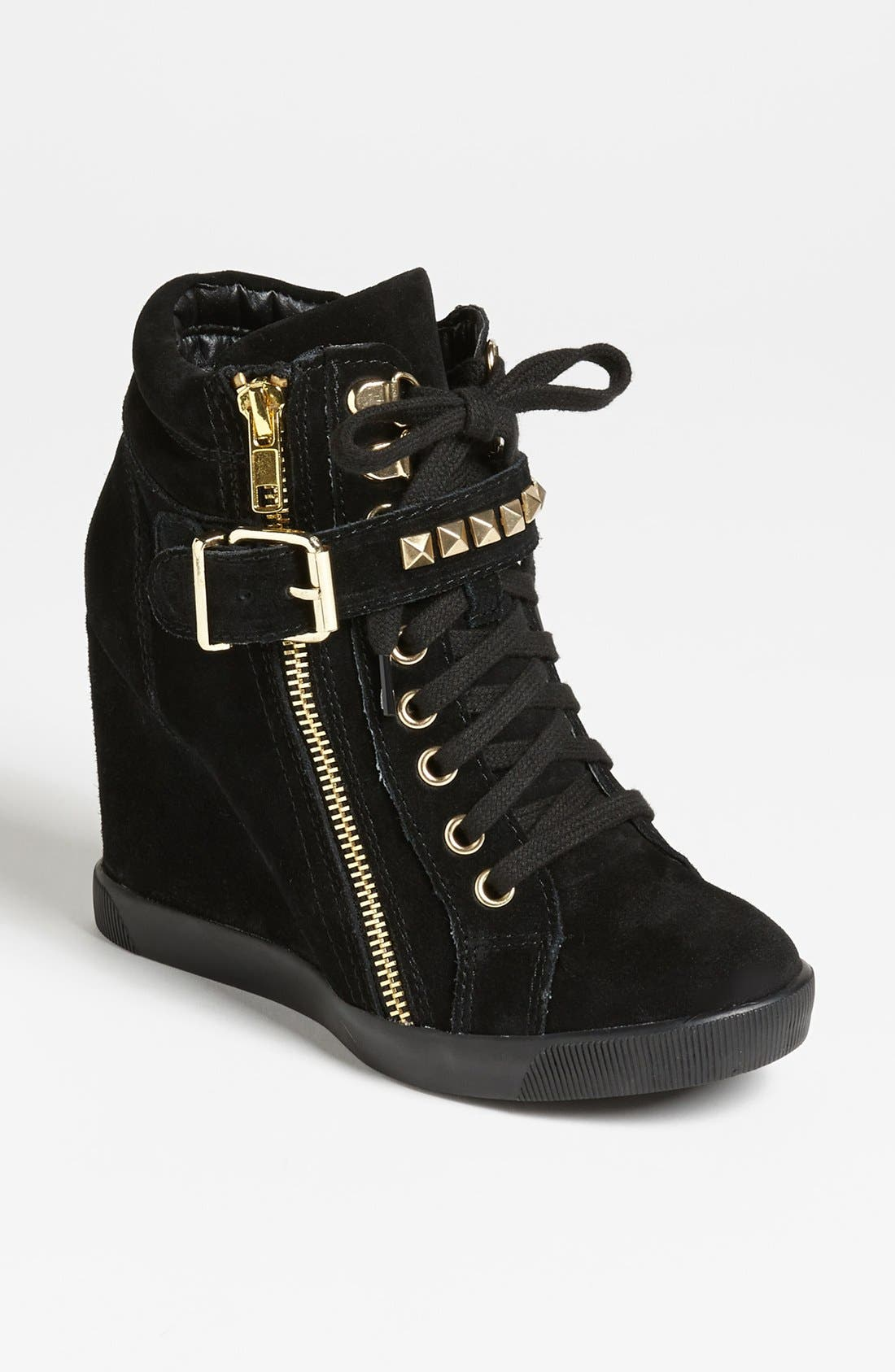 Alternate Image 1 Selected - Steve Madden 'Obsess' Wedge Sneaker