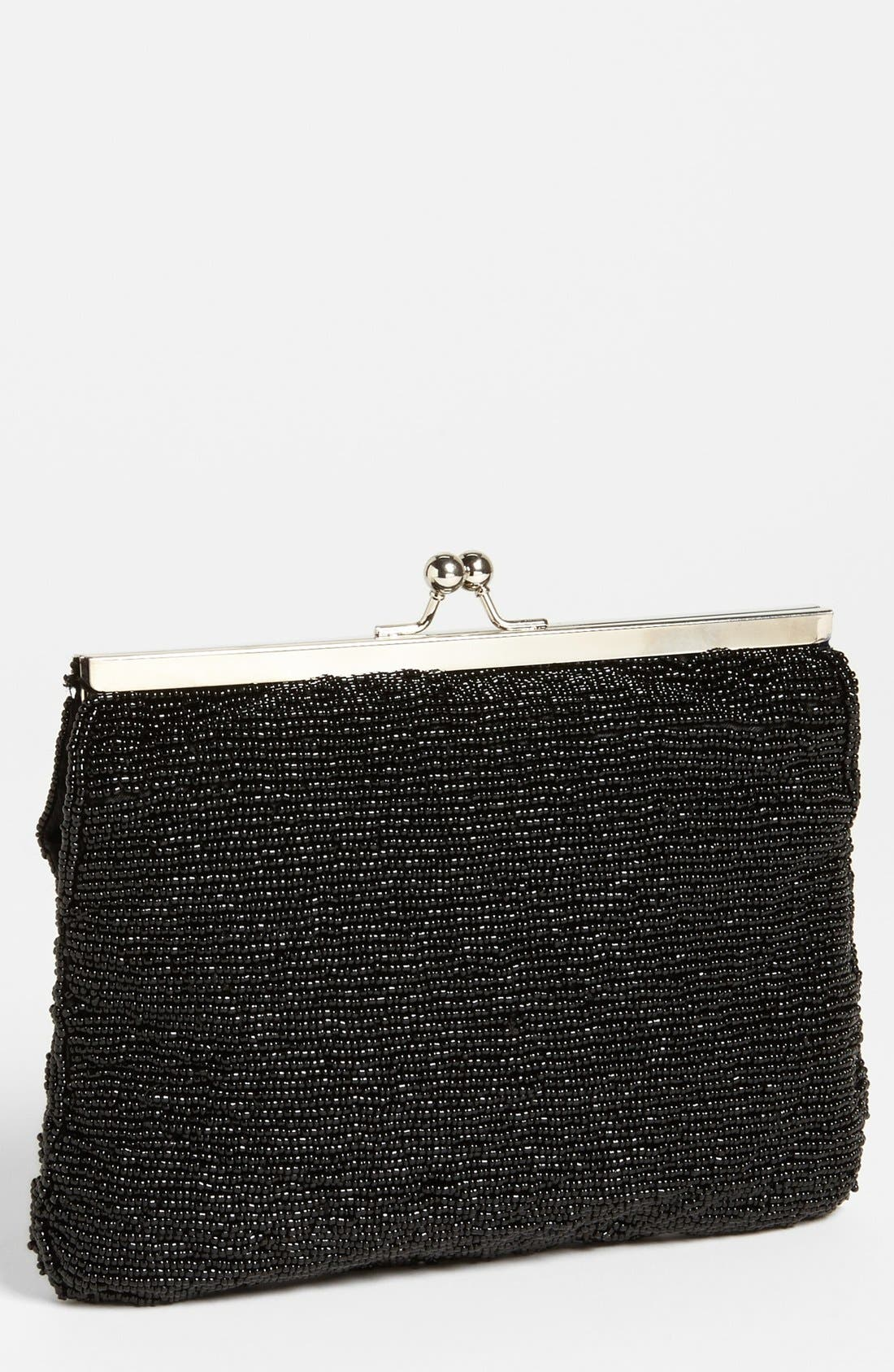 Alternate Image 1 Selected - Nina Beaded Clutch