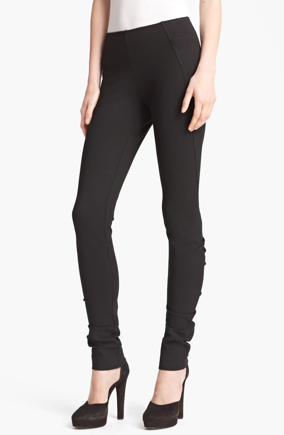 Alternate Image 1 Selected - Donna Karan Collection Structured Jersey Pants
