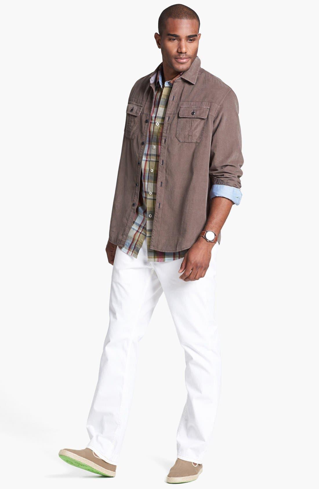 Alternate Image 4  - Tommy Bahama Denim 'Big Daddy' Island Modern Fit Sport Shirt