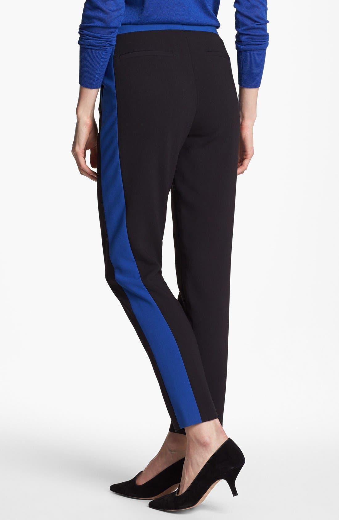 Alternate Image 4  - Halogen® 'Quinn' Tuxedo Skinny Ankle Pants