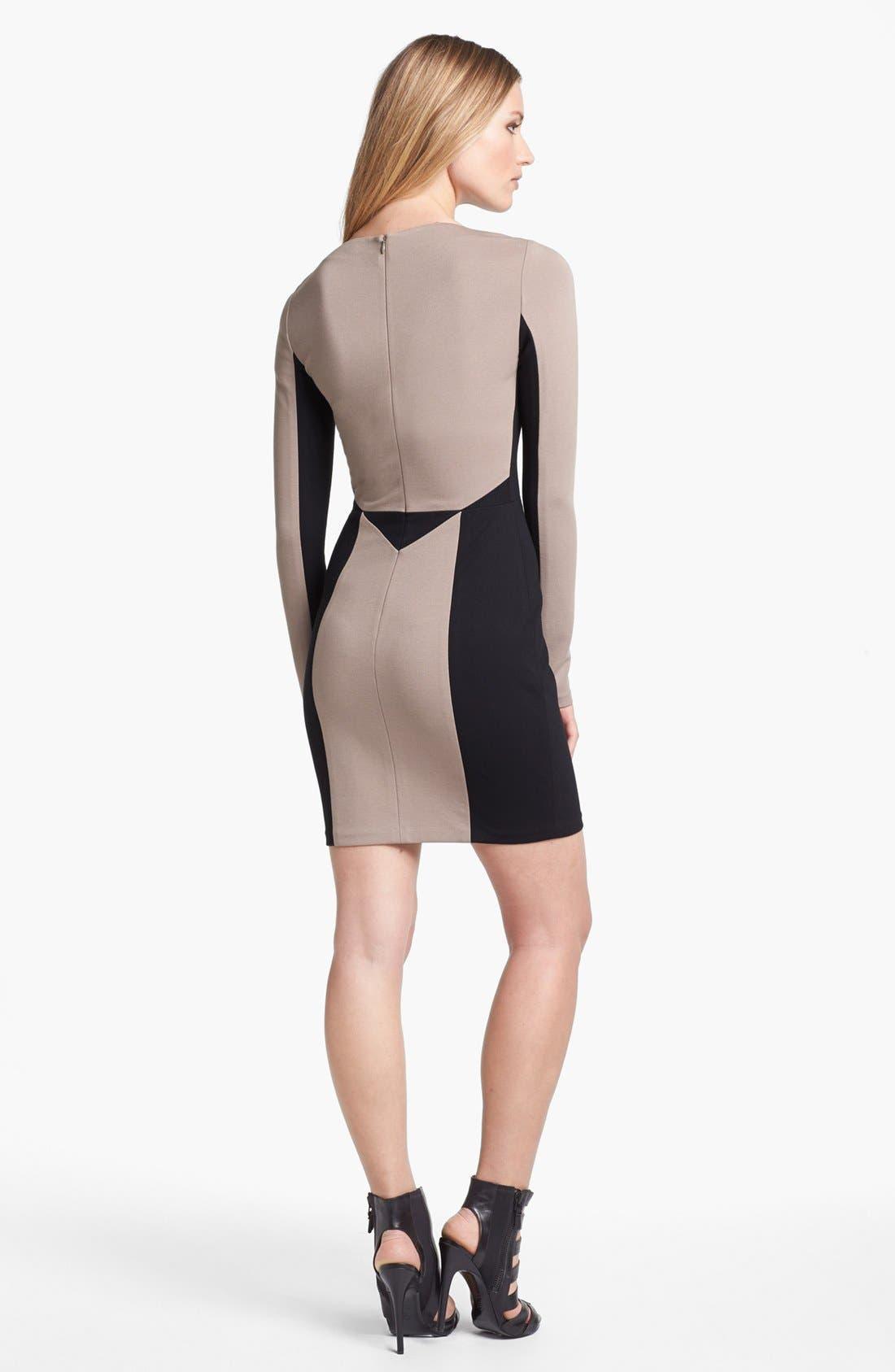 Alternate Image 2  - Rebecca Minkoff 'Harriet' Stretch Body-Con Dress