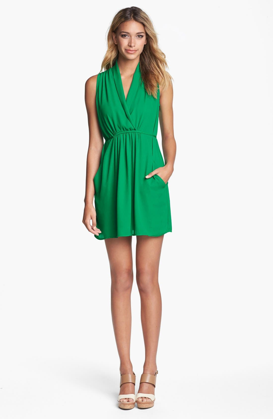 Alternate Image 1 Selected - Collective Concepts Draped Dress