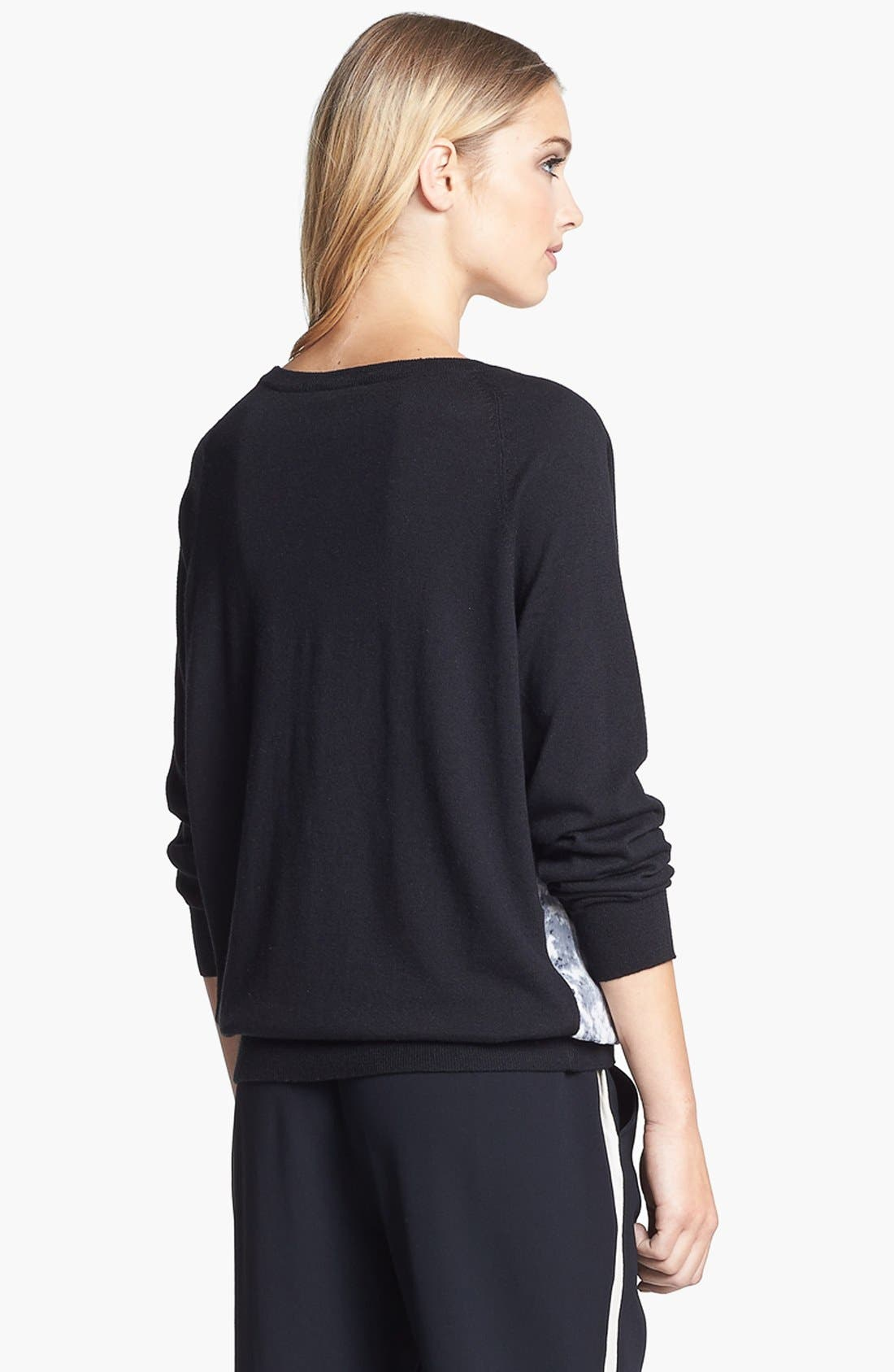 Alternate Image 4  - Joie 'Malena B.' Mixed Media Sweater