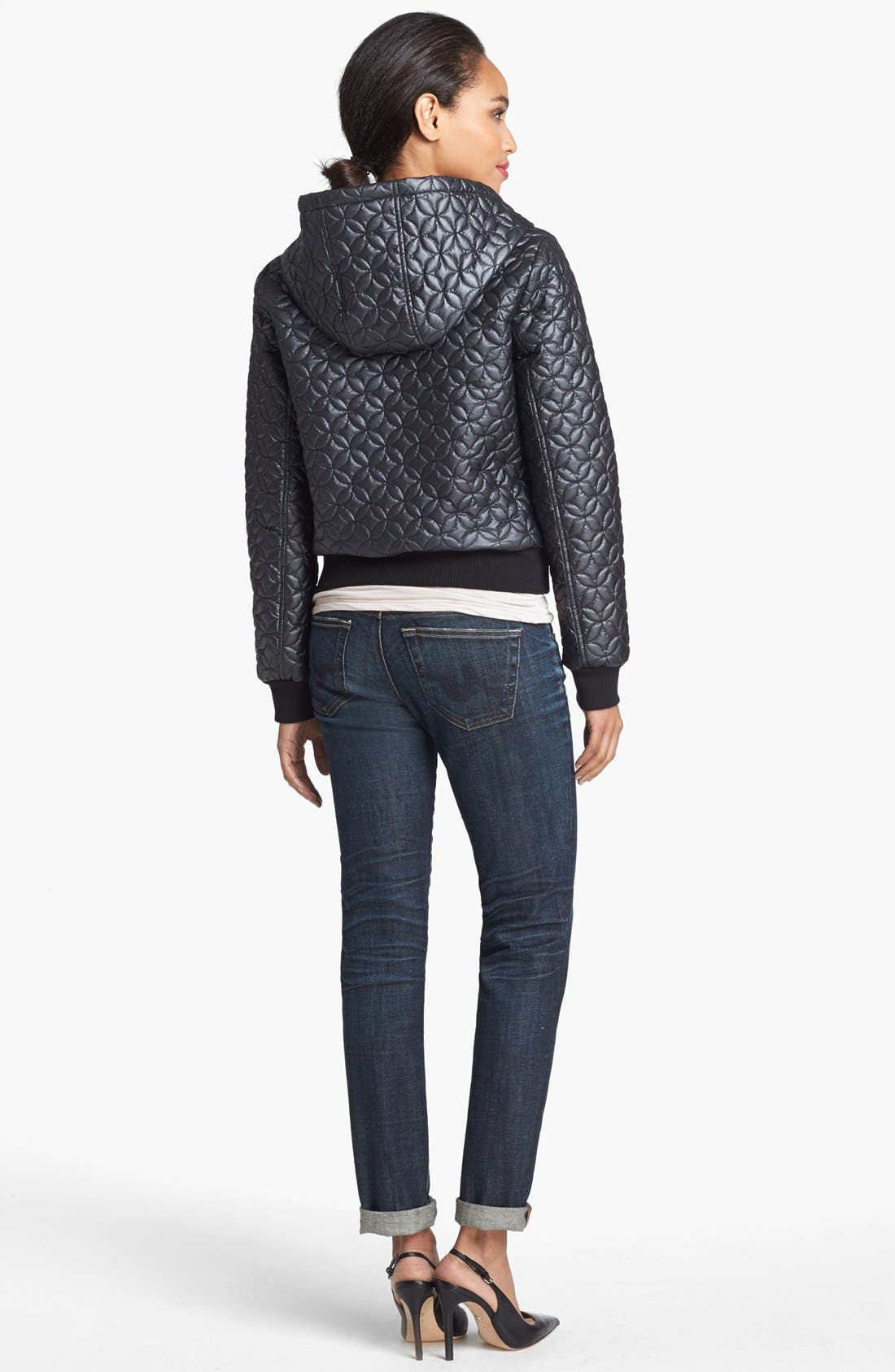 Alternate Image 4  - Hinge® Quilted Puffer Jacket
