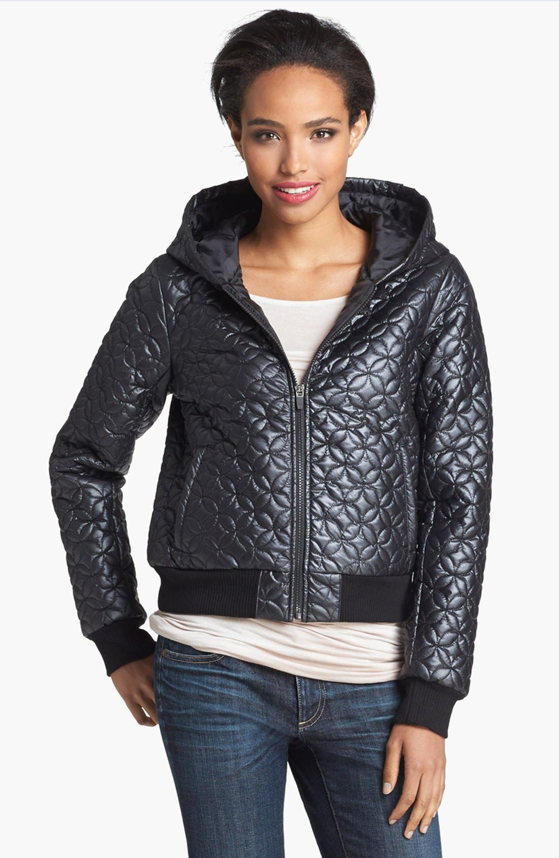 Alternate Image 1 Selected - Hinge® Quilted Puffer Jacket