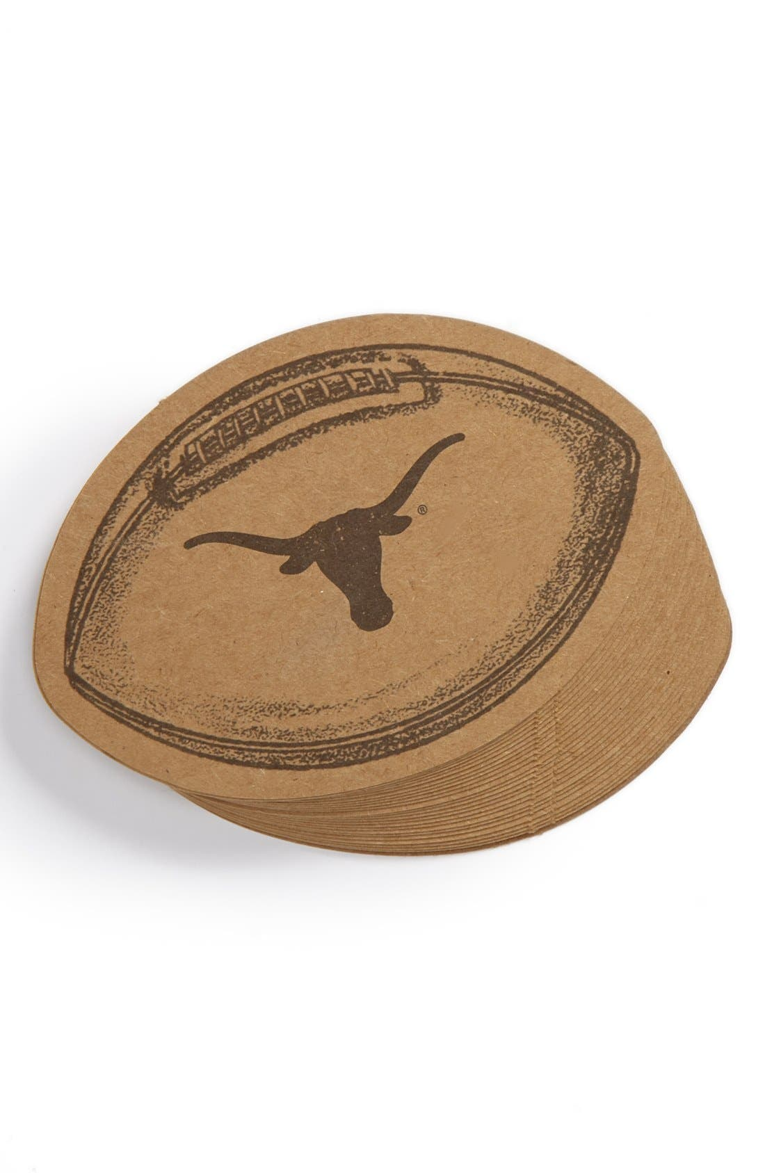 Alternate Image 1 Selected - Kitchen Papers by Cake 'Texas Longhorns' Coasters (Set of 25)
