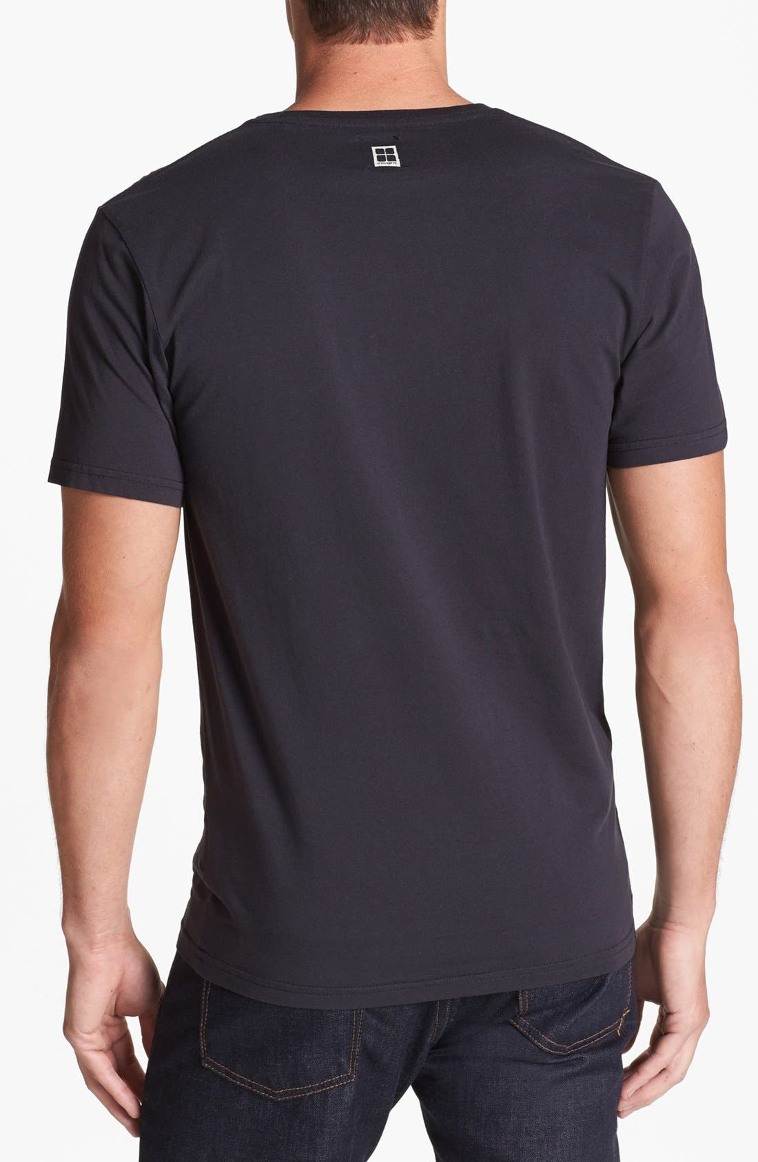 Alternate Image 2  - Insight 'Worth Living' T-Shirt