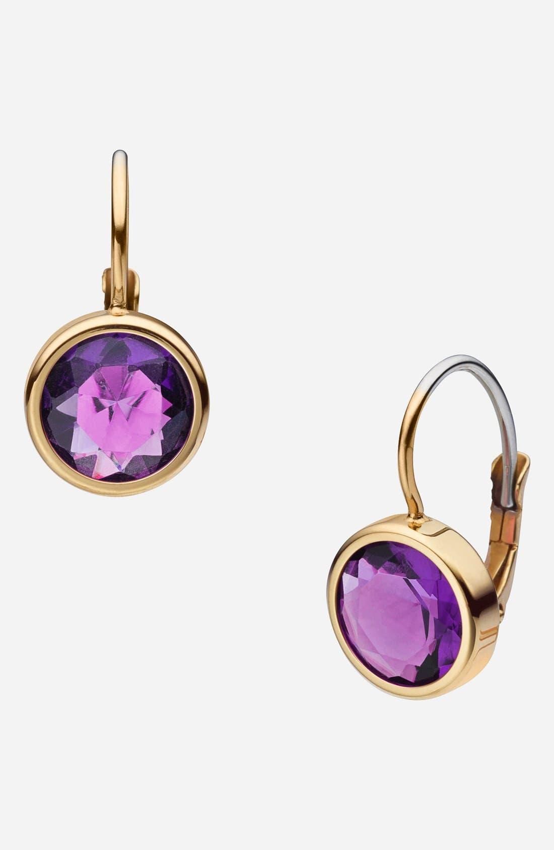 Alternate Image 1 Selected - Michael Kors 'Botanicals' Drop Earrings