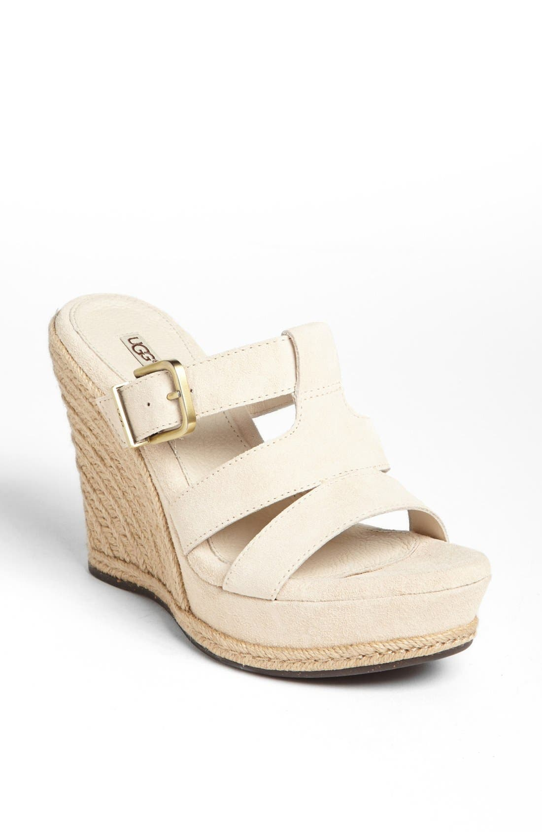 Alternate Image 1 Selected - UGG® Australia 'Hedy' Sandal (Women)
