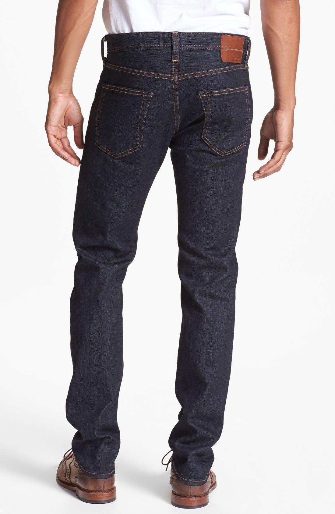 Alternate Image 2  - AG 'Dylan' Skinny Fit Jeans (Jack)
