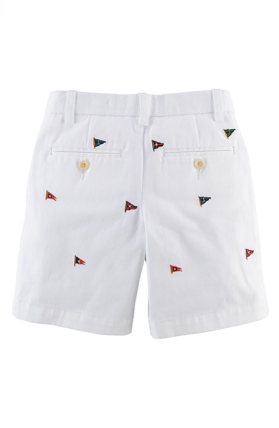 Alternate Image 2  - Ralph Lauren Chino Shorts (Toddler Boys)