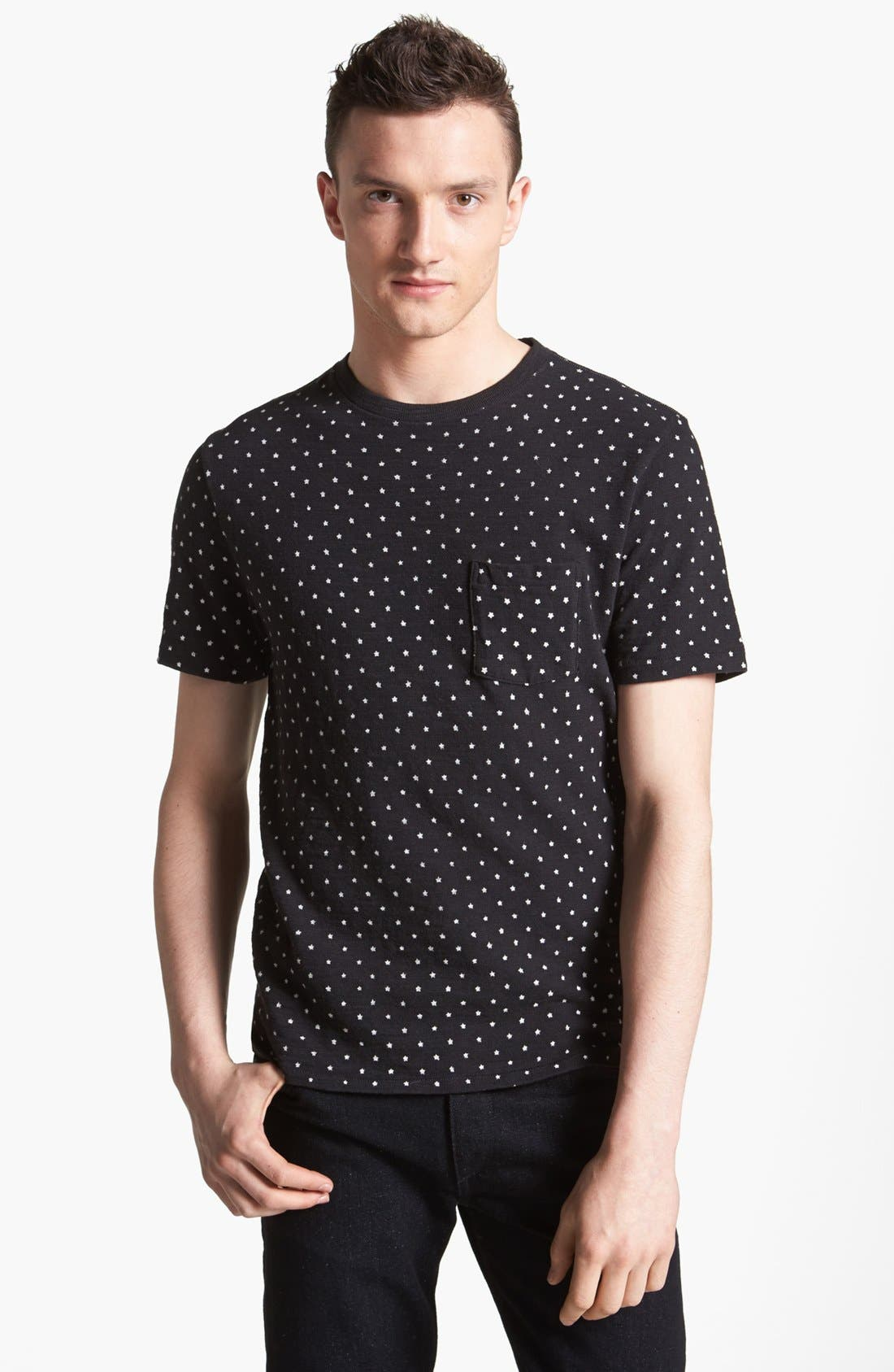 Alternate Image 1 Selected - rag & bone 'Blackstar' Print T-Shirt