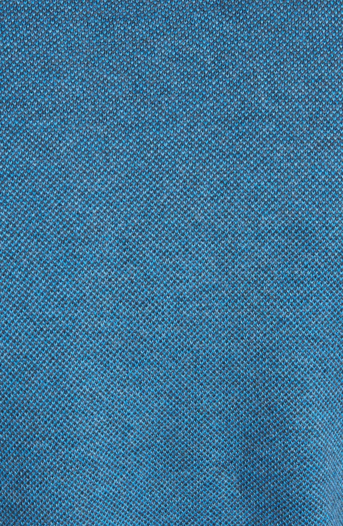 Alternate Image 3  - Cutter & Buck 'Haven' Half Zip Bird's Eye Sweater (Big & Tall)